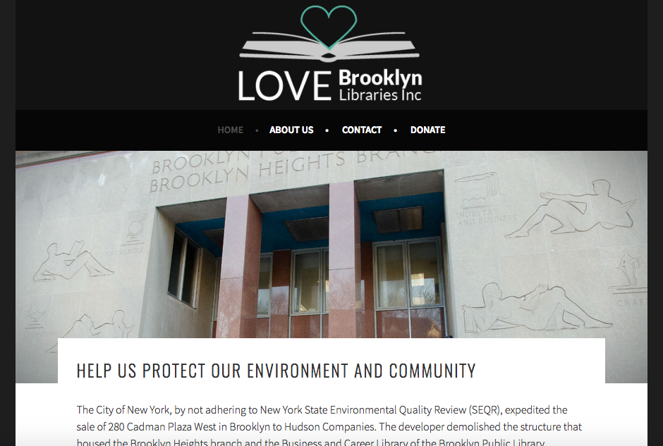 Nonprofit to save the Brooklyn Heights Library